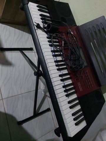 Novo vendo teclado arranjador cassio ctk 6250