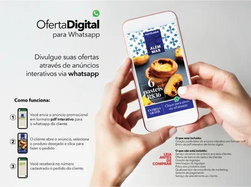 Oferta digital via whatsapp