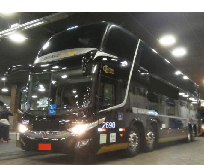 Onibus DD 1800 G-7 4-eixos Volvo B-450 R Cód.6430 ano 2016