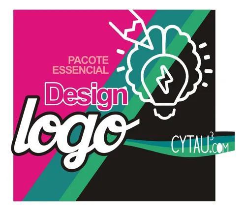 Pacote essencial design logo logomarca logotipo marca