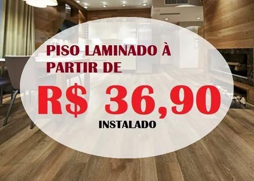 Pisos laminados instalados à partir de r$36,90 o m²
