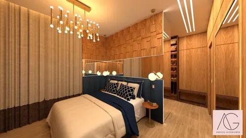 Projeto 3d - design interiores criativo e moderno