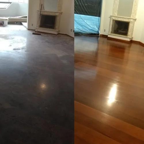 Restauração de pisos de madeira, tacos, assoalhos, decks.