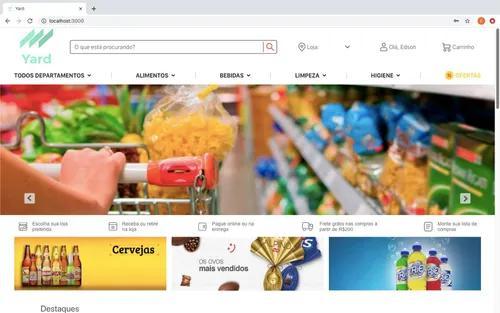 Site completo para market place