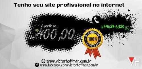 Site profissional a preço popular