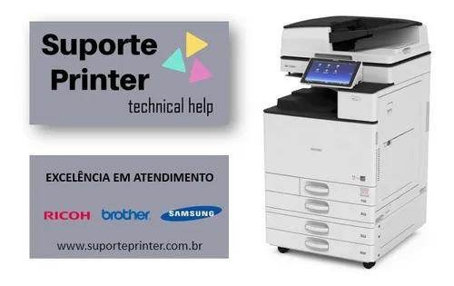 Técnico impressora manutenção conserto ricoh samsung