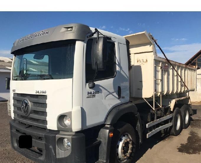 VW 24280 truck caçamba basculante 24-280