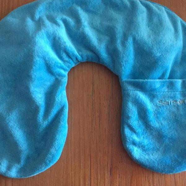 Capa inflável em fleece protetor de pescoço samsonite semi