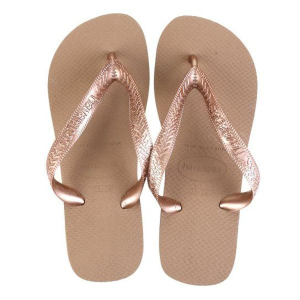 Chinelo havaianas top bege 39/40