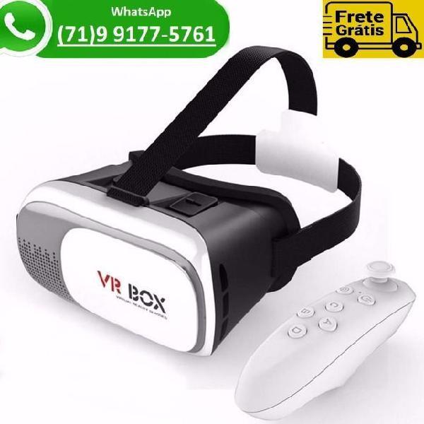 Culos realidade virtual + controle bluetooth óculos 3d