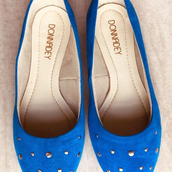 Sapatilha azul royal