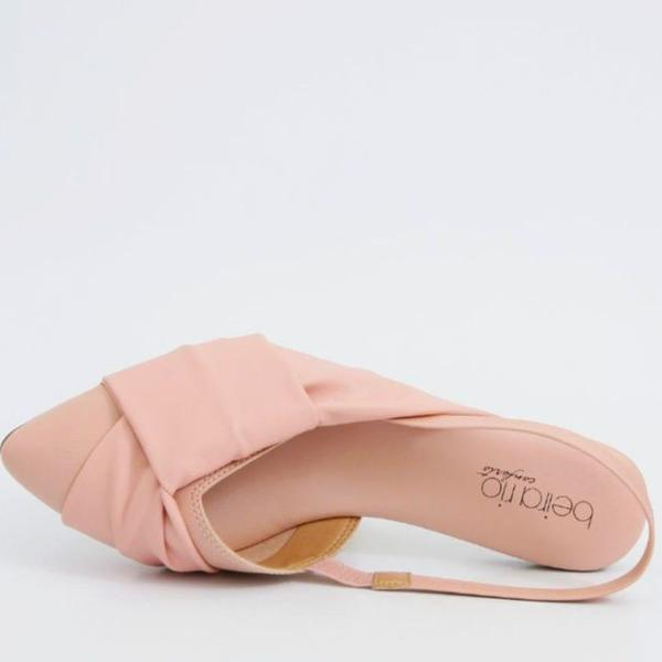 Sapatilha sandália rasteira feminina beira rio napa