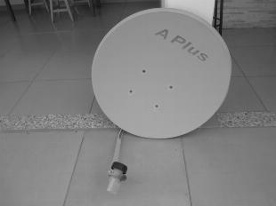 Antenas KU para satélite com LNB (2)