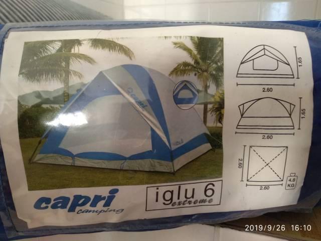 Barraca capri camping iglu extreme