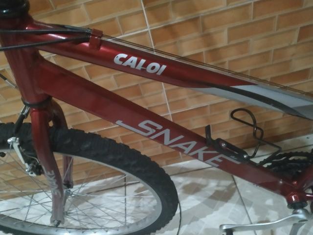 Bicicleta caloi snake 21 marchas