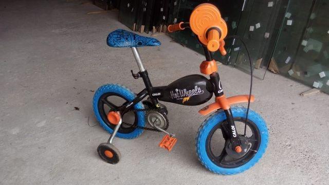 Bicicleta hot wheels infantil