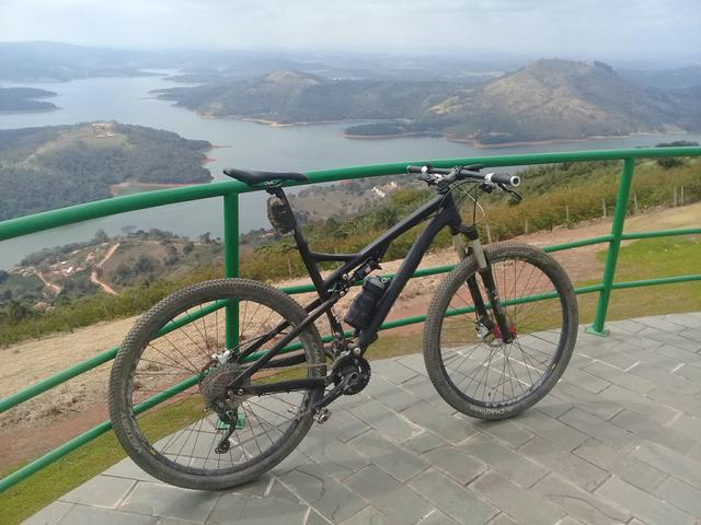 Bicicleta mtb caloi elite aro 29 full suspension - preto