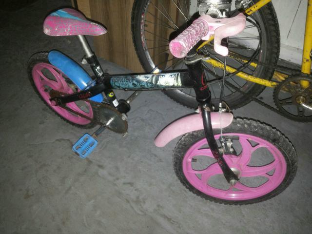 Bicicleta caloi menina aro 16