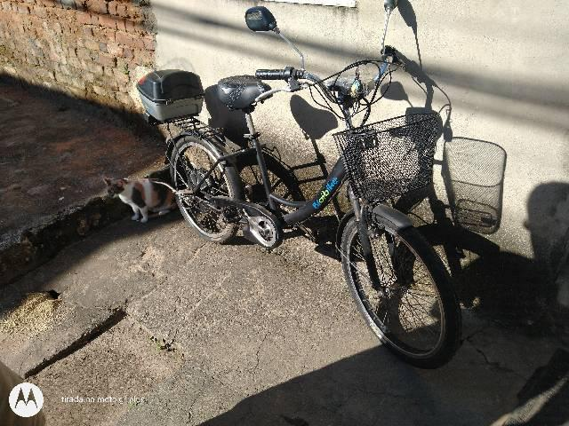 Bicicleta eletrica bio bike falta bateria muito nova