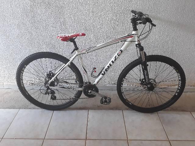 Bike venzo raptor nova freio a disco aro29 toda shimano