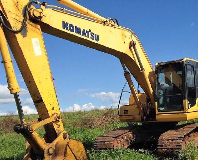 Escavadeira komatsu pc200 2014