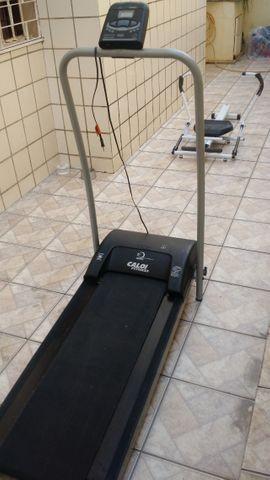 Esteira elétrica caloi fitness eletronic 1.4 ci 3206