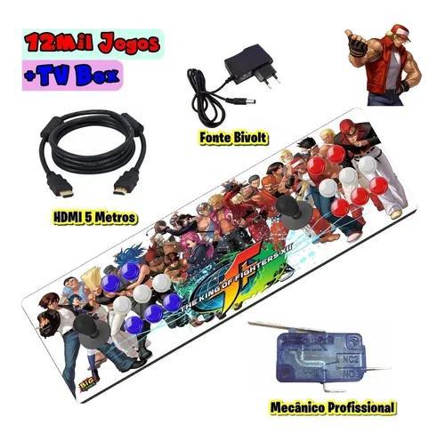 Fliperama portátil retrô 12500 jogos modelo 2020 !!!!!!