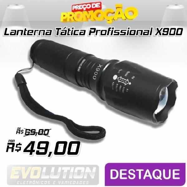 Lanterna multifuncional led luatek lk-x900