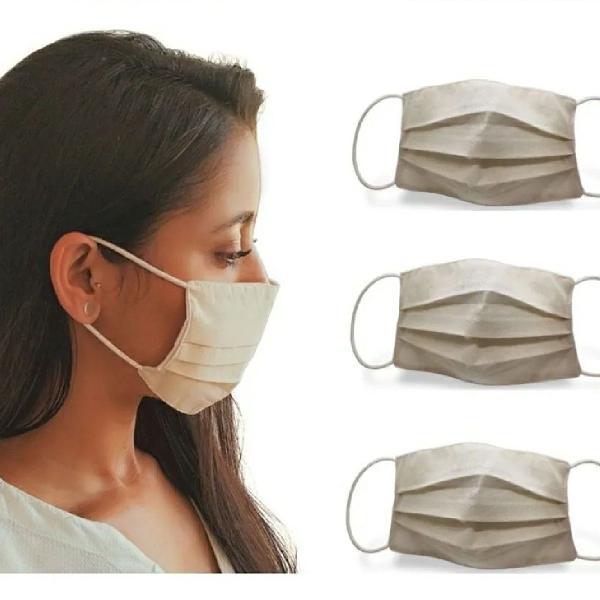 Máscara tecido lavável 100% de proteção pronta entrega