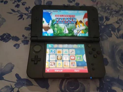 New 3ds xl cinza
