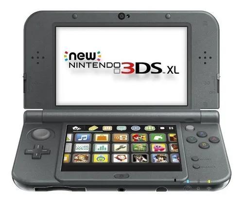 New nintendo 3ds xl (com 3 jogos e carregador) originais