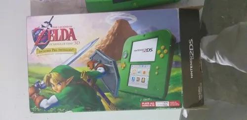 Nintendo 2ds edição zelda ocarina of time