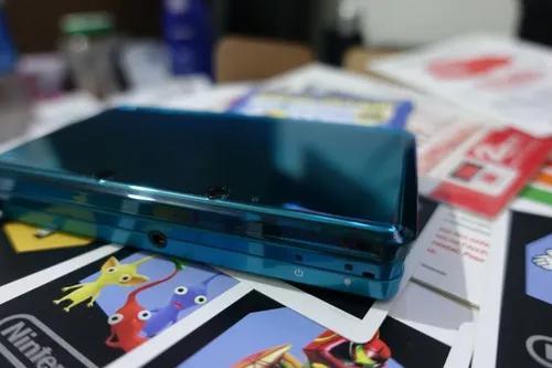 Nintendo 3ds - aqua blue / azul aqua/ aparelho s