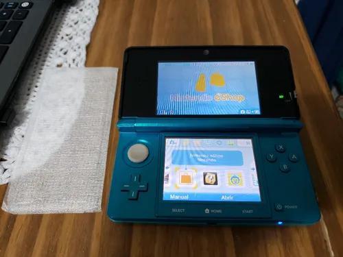 Nintendo 3ds azul aqua