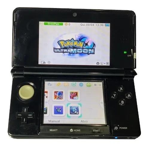 Nintendo 3ds desbloqueado com 32gb ref:p01