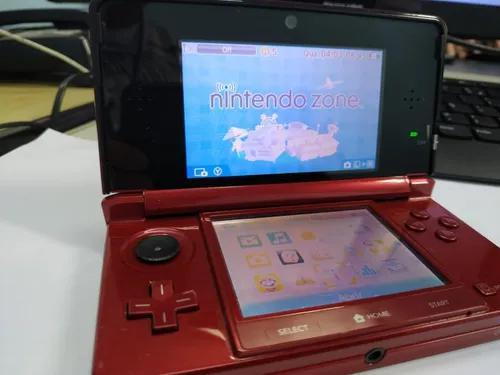 Nintendo 3ds original vermelho - (s