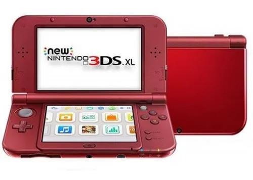 Nintendo 3ds vermelho + 10 jogos