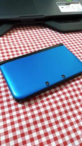 Nintendo 3ds xl azul (com skin)