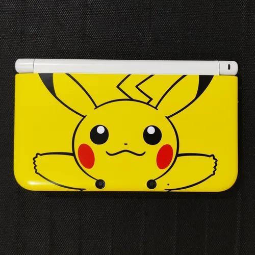 Nintendo 3ds xl pikachu edition + mario & luigi dream team