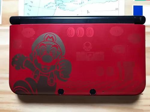 Nintendo 3ds xl super mario bros edição limitada