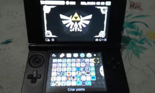 Nintendo 3ds xl vermelho desbloqueado