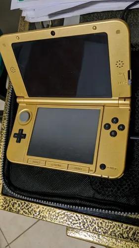 Nintendo 3ds xl zelda edition desbloqueado + 2 jogos
