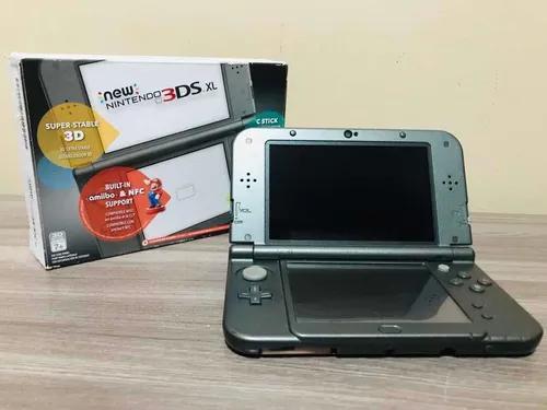 Nintendo new 3ds xl + 48gb