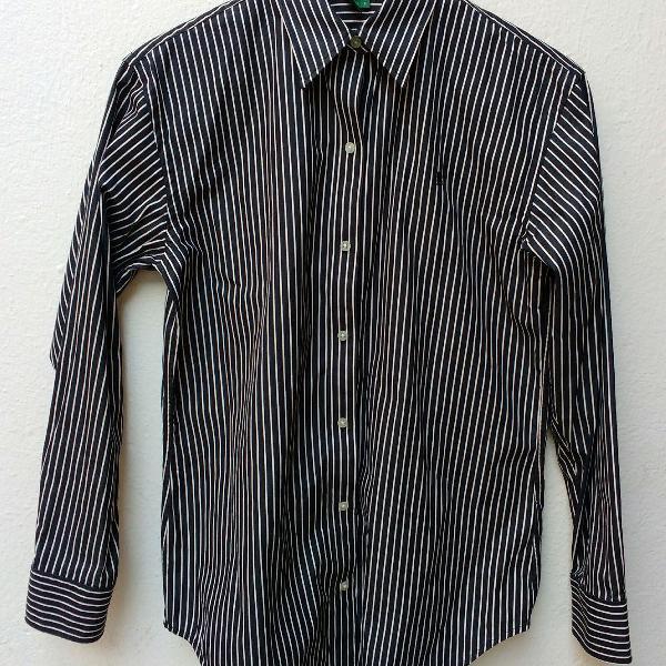 Ralph lauren, camisa de tricoline