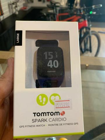 Relógio smartwatch tom tom gps