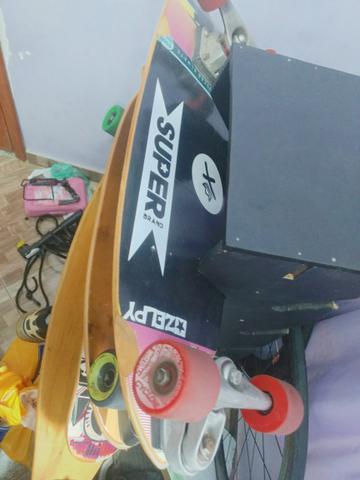 Skate carver longboard simulador de surf