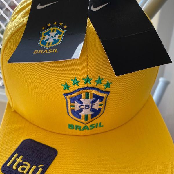 Boné nike brasil heritage 86 seleção original