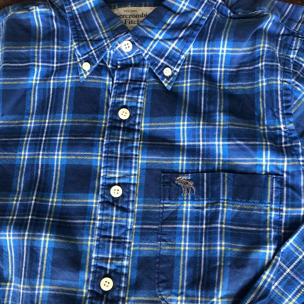 Camisa abercrombie e fitch, original, tam xxl, modelagem