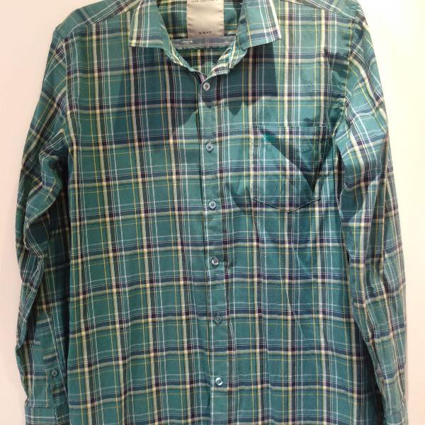 Camisa xadrez marca tng - tamanho m