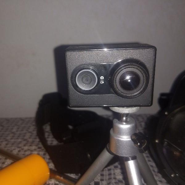 Câmera de ação 4k yi